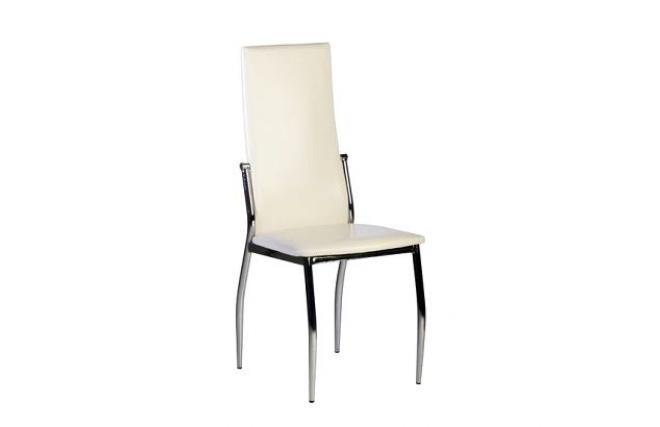 4 sedie da cucina / sala da pranzo BERLIN design bianche - Miliboo