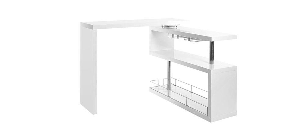 Bar design laccato bianco MAX