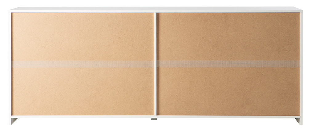 Buffet design 4 ante laccato bianco ERIA