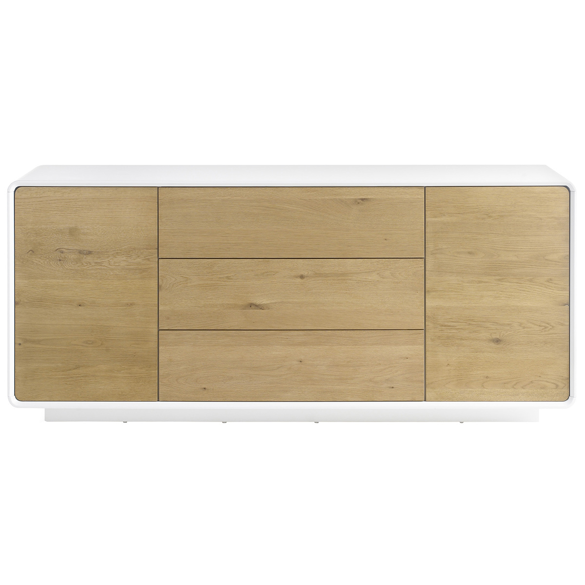 Buffet scandinavo legno e bianco UMA