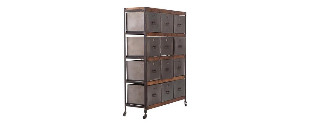 Cassettiera design 12 cassetti LOFT