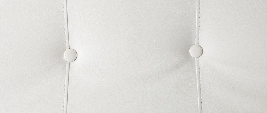 Chaise longue design bianco MONACO