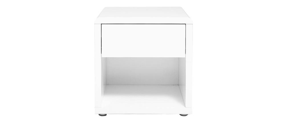 Comodino design laccato bianco ELIAH
