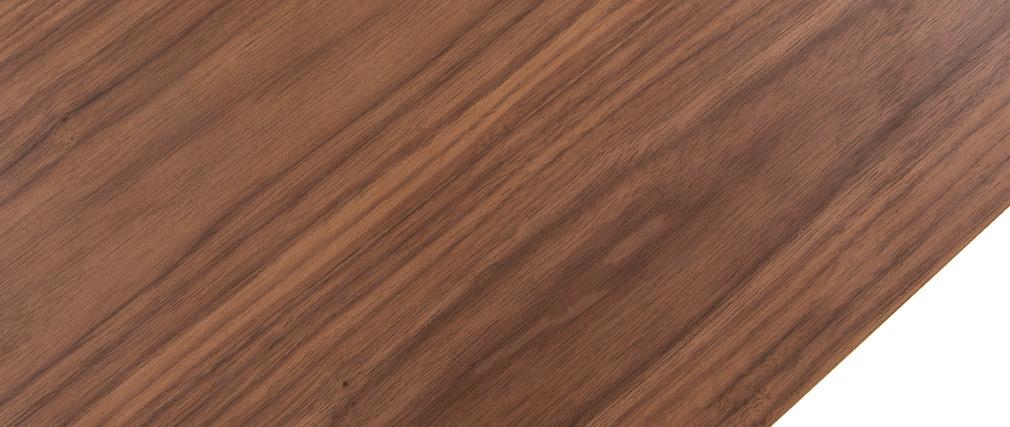 Console design in legno noce L120 cm RUSSELL