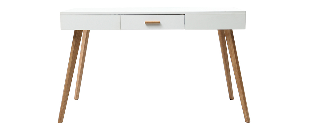 Console quercia e bianco 120cm GILDA
