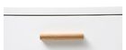 Console quercia e bianco L120 cm GILDA