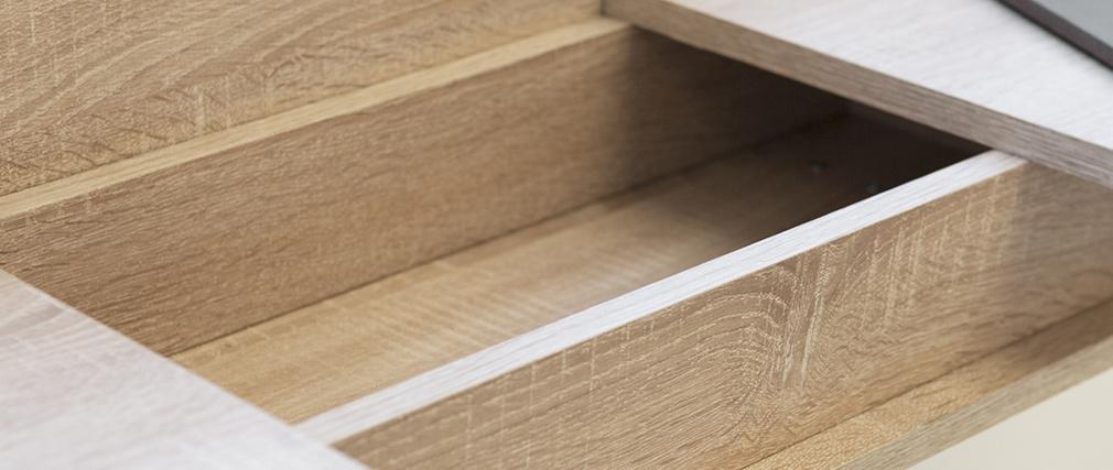 Console scandinava legni e bianco ORIGAMI
