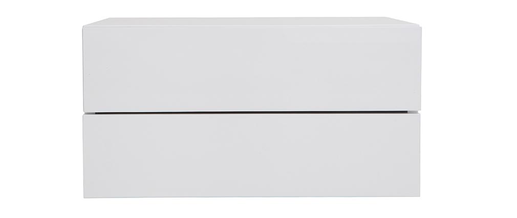 Contenitore design bianco 2 cassetti MAX