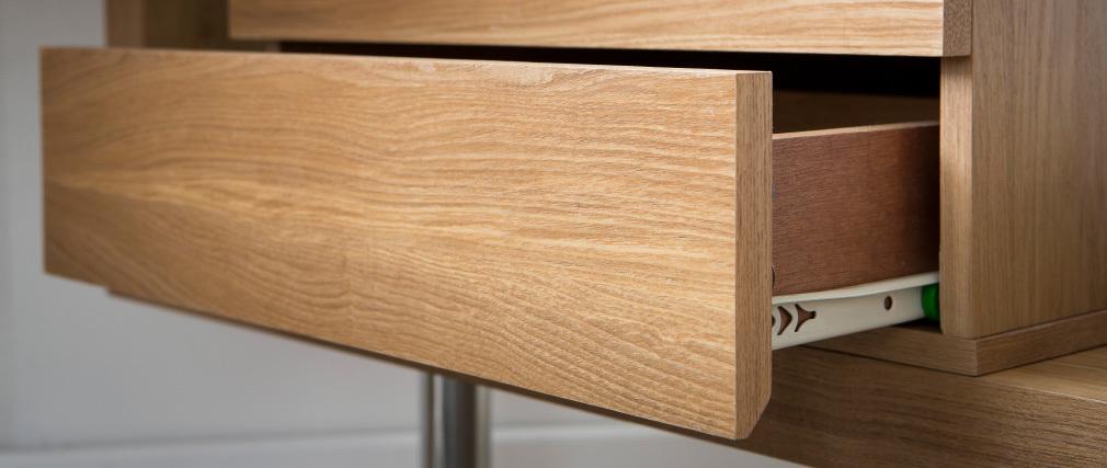 Contenitore design legno 2 cassetti MAX