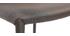 Coppia di 2 sgabelli / sedie da bar design beige TALOS