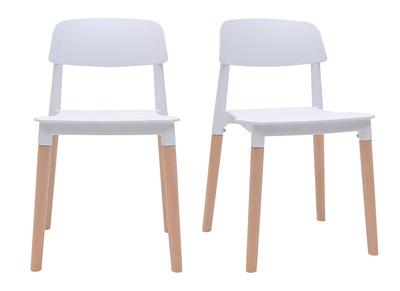Saldi sedie moderne viola miliboo for Sedie design grigie