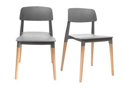 Sedie moderne sedie di design in offerta miliboo for Sedie design grigie