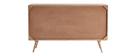 Credenza in legno di mango con intreccio in rattan ACANGE