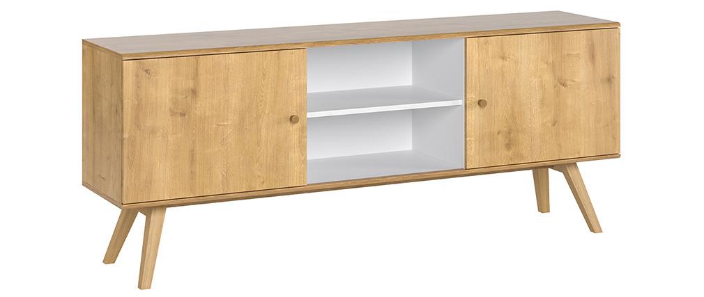 Credenza scandinava legno chiaro L180 cm GOLA