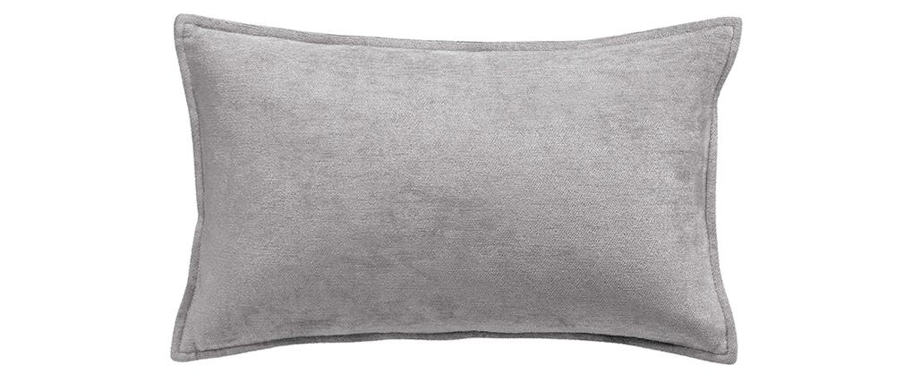 Cuscino in velluto grigio 30 x 50 cm ALOU