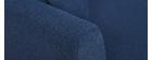 Divano a 3 posti design in tessuto Blu scuro con spazio per riporre i propri oggetti MEDLEY