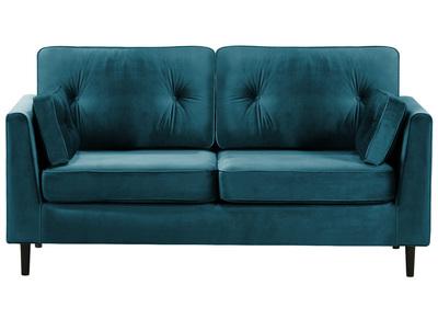 Saldi divani moderni vendita divani design a prezzi bassi miliboo - Divano verde petrolio ...