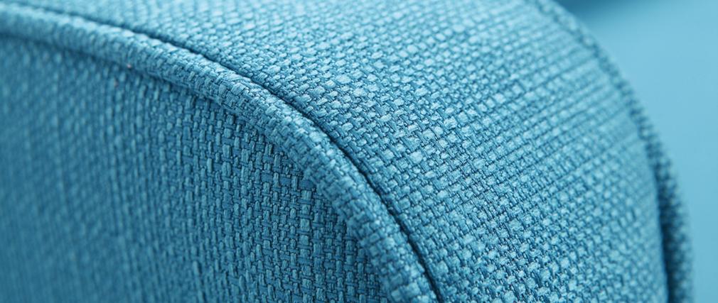 Divano angolo convertibile scandinavo blu ULLA