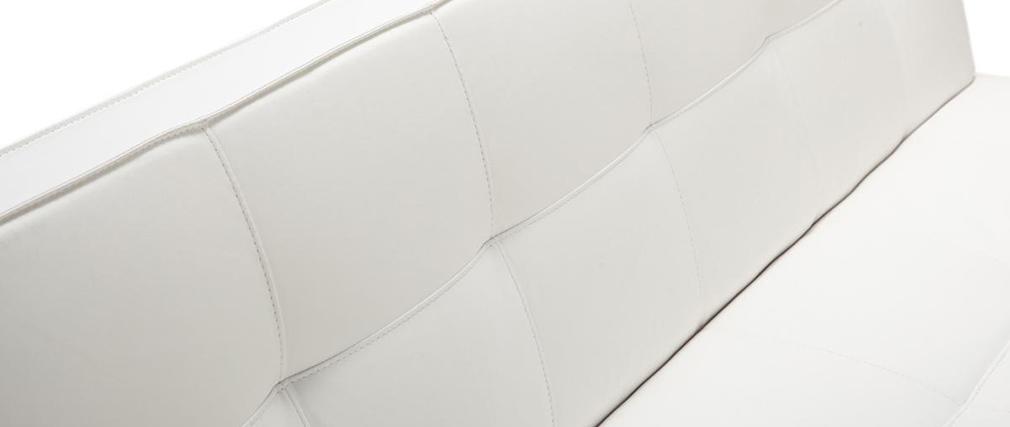 Divano convertibile design bianco CHARLESTON