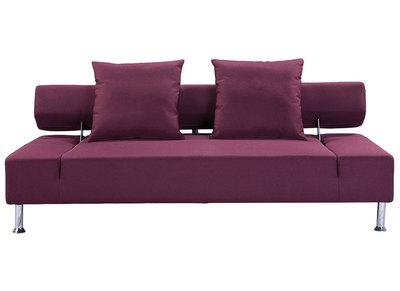 Divani letto design pratico e originale miliboo - Divano color prugna ...