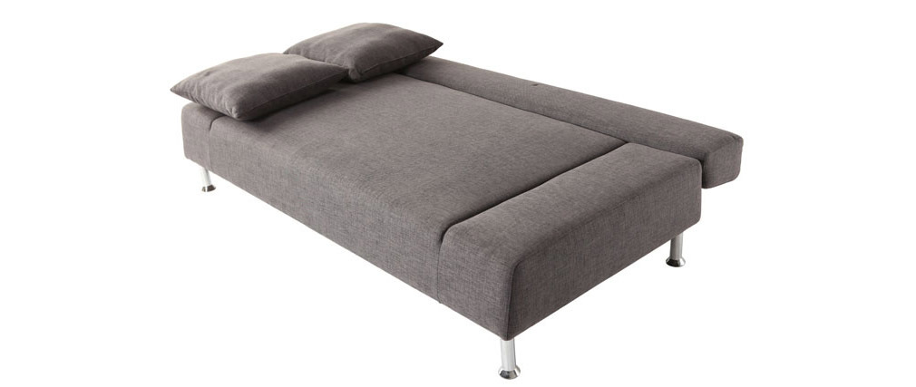 Divano convertibile design grigio 3 posti MILANO