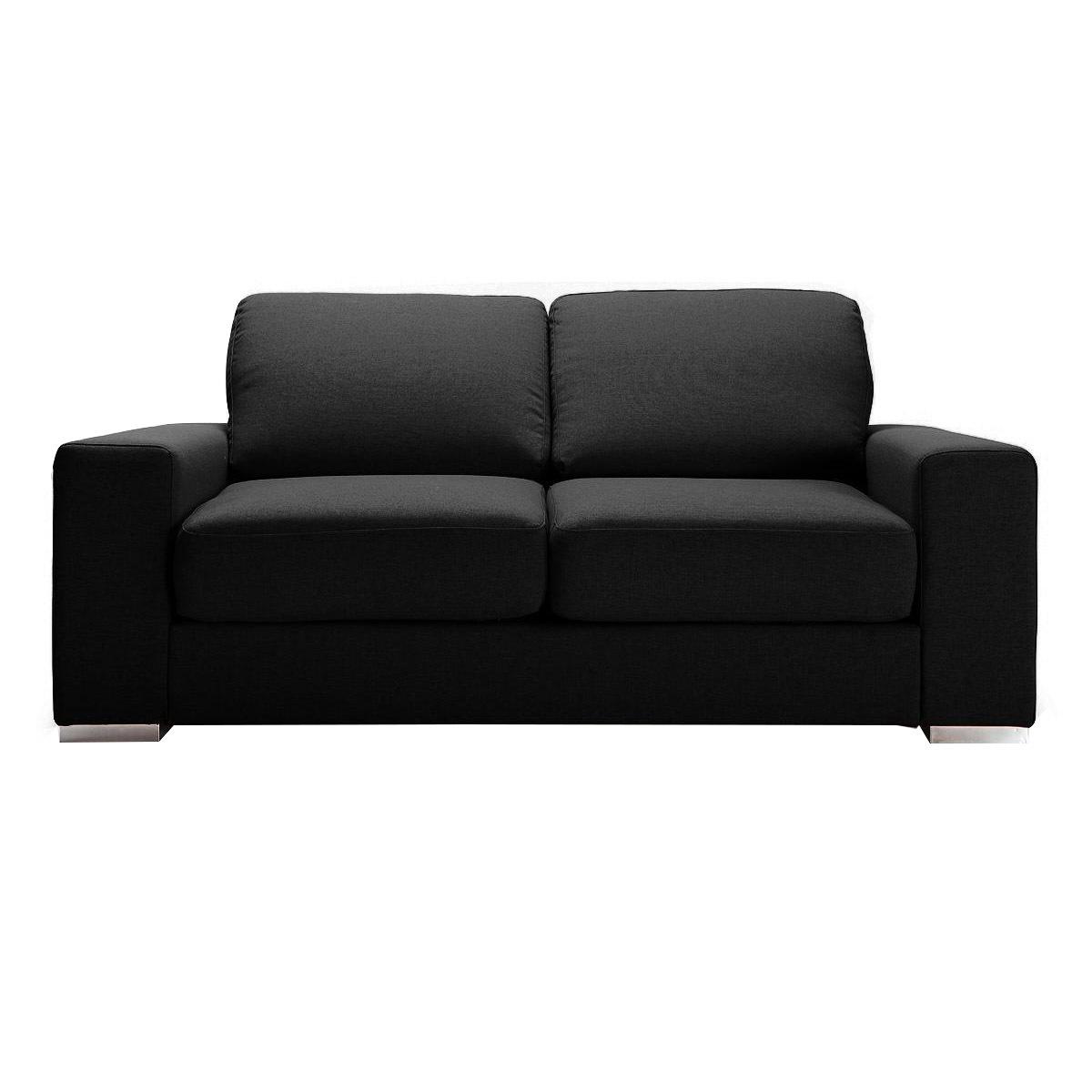 Divano convertibile design nero RAPIDO HAMILTON