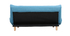 Divano convertibile design scandinavo blu anatra YUMI