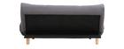 Divano convertibile design scandinavo grigio scuro YUMI