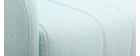 Divano convertibile vintage 3 posti verde acqua ARYA