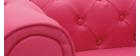 Divano da bambino 2 posti BABY CHESTERFIELD rosa