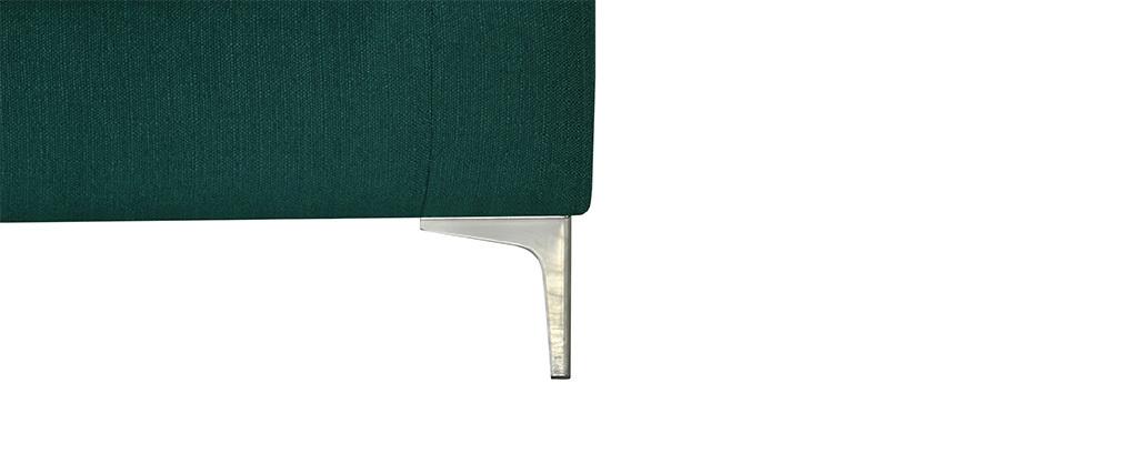Divano design a 2 posti Blu anatra HARRY