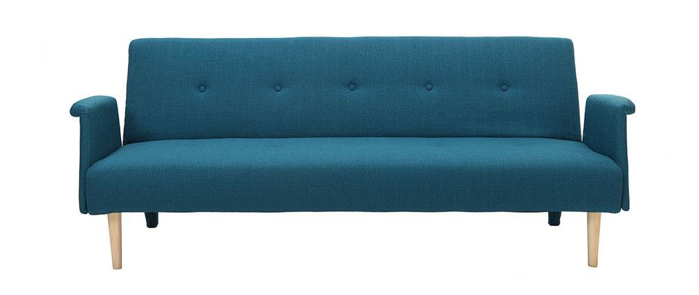 Divano design convertibile blu OSCAR