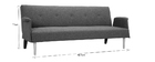 Divano design convertibile grigio chiaro OSCAR