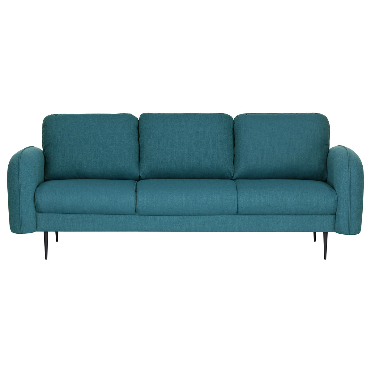 Divano design in tessuto Blu anatra 3 posti SIDI