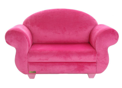 Saldi divanetti per bambini design e prezzi bassi rosa for Divanetti per bambini