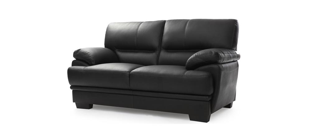 divano nero pelle provino idee per il design della casa