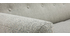 Divano scandinavo 3 posti tessuto grigio chiaro KYNO