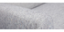 Divano tessuto grigio chiaro piede in legno chiaro 2 posti PURE