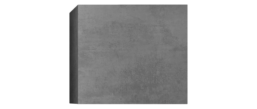 Elemento murale quadrato grigio finitura cemento ETERNEL