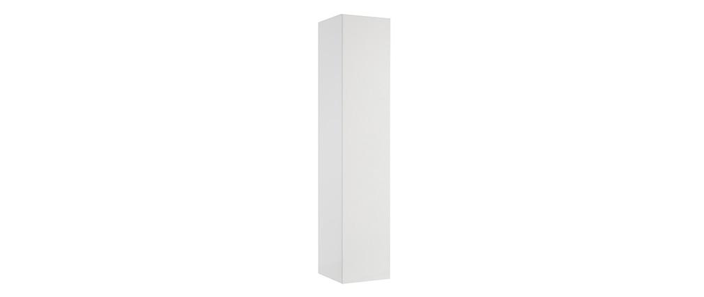 Elemento murale TV COLORED orizzontale o verticale laccato bianco