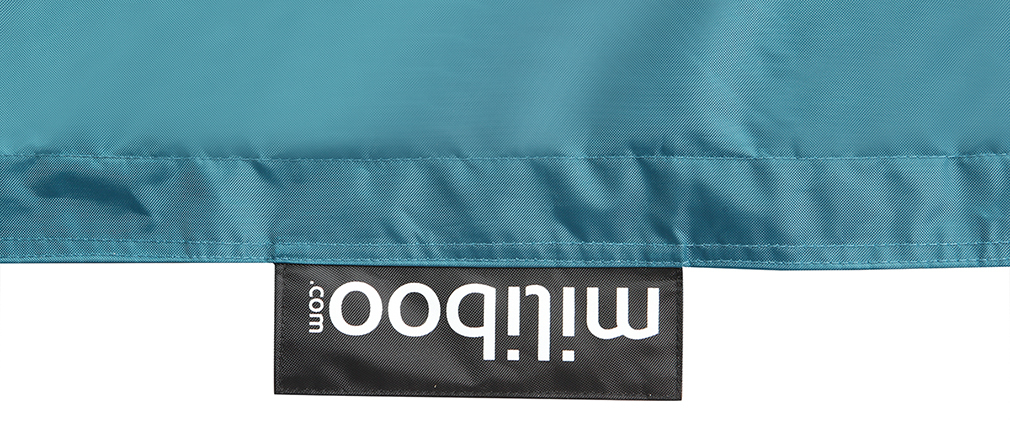 Fodera di pouf gigante Blu anatra BIG MILIBAG