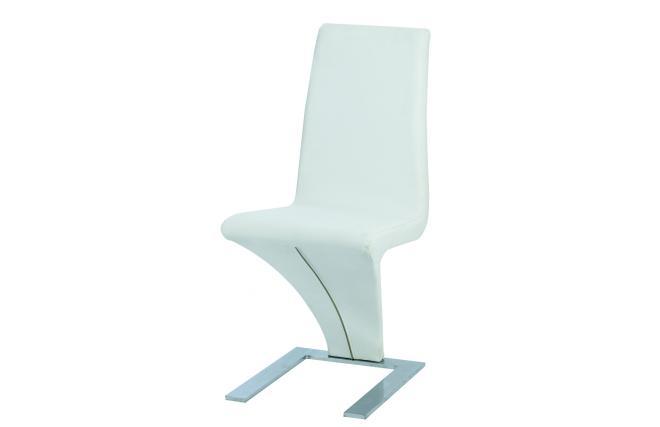 Gruppo di 2 sedie bianche design angie miliboo for Sedie bianche design