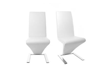 Gruppo di 2 sedie design bianche NEW ANGIE