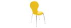 Gruppo di 2 sedie design color giallo NEW ABIGAIL