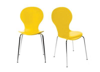 Saldi sedie moderne metallo bordeaux miliboo for Saldi sedie