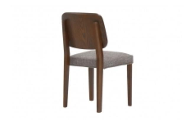 Gruppo di 2 sedie design in legno colore cioccolato tina for Sedie di design in legno