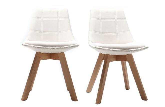 Sedie Bianche E Legno : Il tavolo da pranzo rotondo bianco di legno solido fissa la