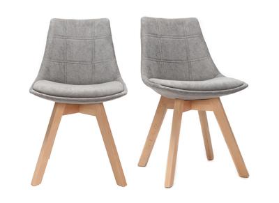 Sedie design economiche scopri la sedia moderna miliboo for Sedie design tessuto