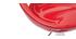 Gruppo di 2 sgabelli COMET rosso