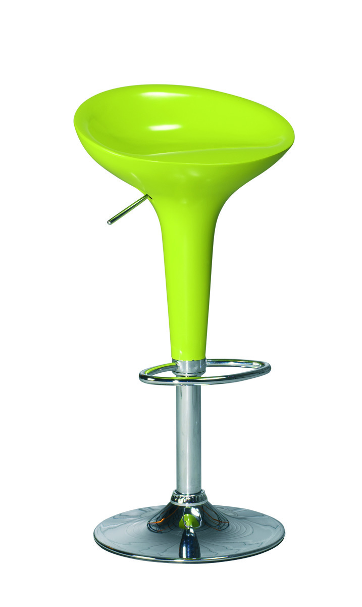 Gruppo di 2 sgabelli da bar cucina verde design sirius for Sgabelli bar cucina